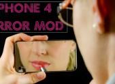 iPhone 4/4S به همراه یک آینه ی پشتی 50 دلاری