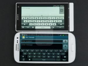 مقايسه فني Samsung Galaxy S III vs Sony Xperia S