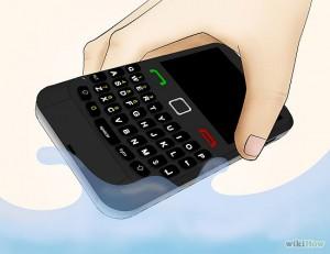 راه کارهای نجات تلفن همراه خیس شده!