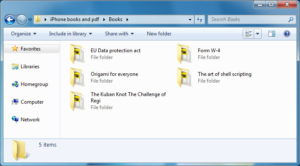 book-backup-folder-on-pc