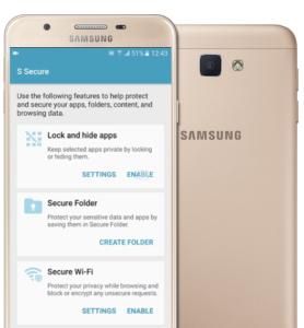 مرحله چهارم: باز نمودن قفل می باشد. که با ورود به اپلیکیشن Secure گزینه Enable را بفشارید و با وارد نمودن پسورد اپلیکیشن را Unlock نمایید.